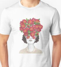 The optimist // rose tinted glasses Unisex T-Shirt