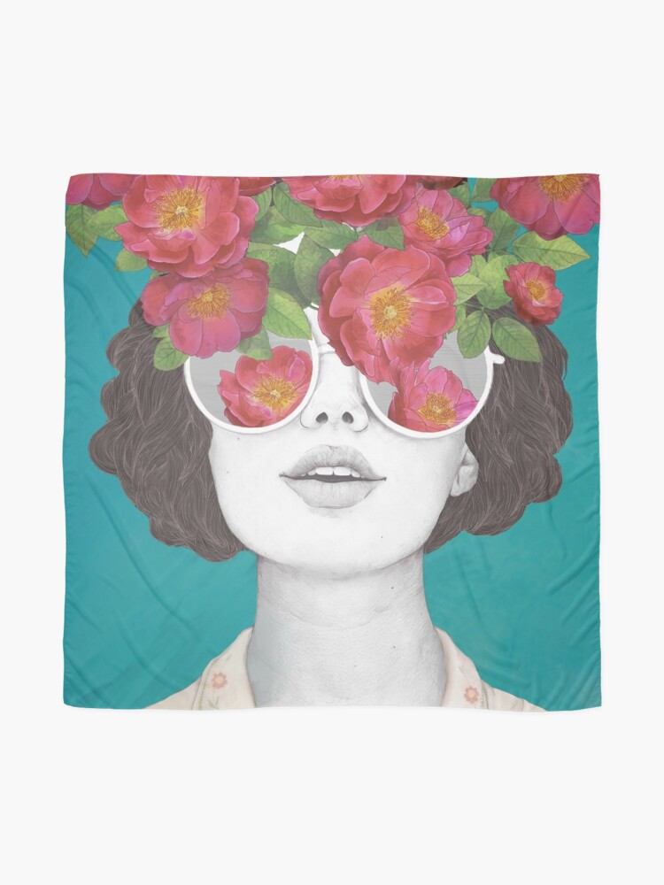 Alternate view of The optimist // rose tinted glasses Scarf