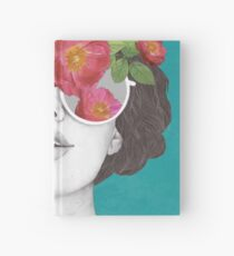 The optimist // rose tinted glasses Hardcover Journal