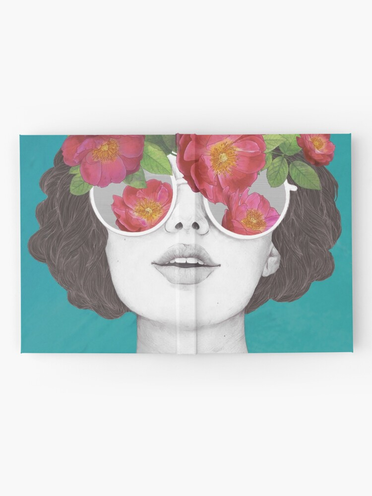 Alternate view of The optimist // rose tinted glasses Hardcover Journal