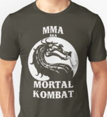 MMA aka Mortal kombat T-Shirt