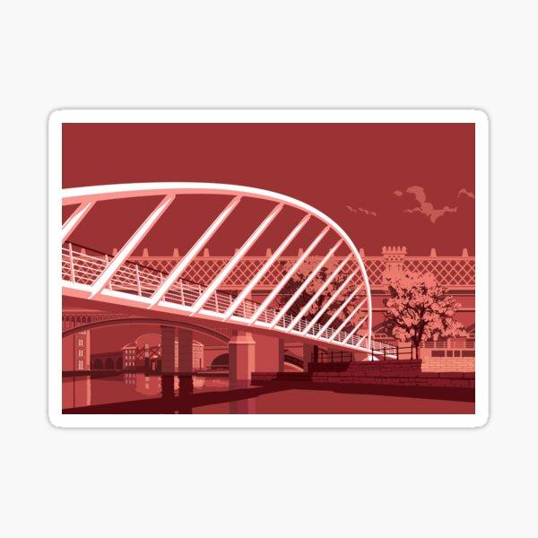 Merchants Bridge, Castlefield, Manchester Sticker