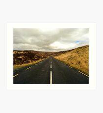 Empty Road Donegal Art Print