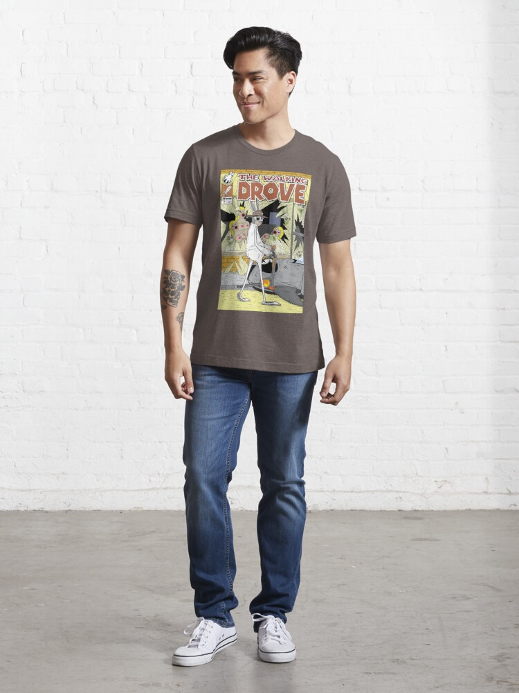 Alternate view of The Walking Drove Essential T-Shirt