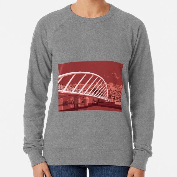 Merchants Bridge, Castlefield, Manchester Lightweight Sweatshirt