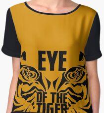 Eye of the tiger - Rocky Balboa Chiffon Top