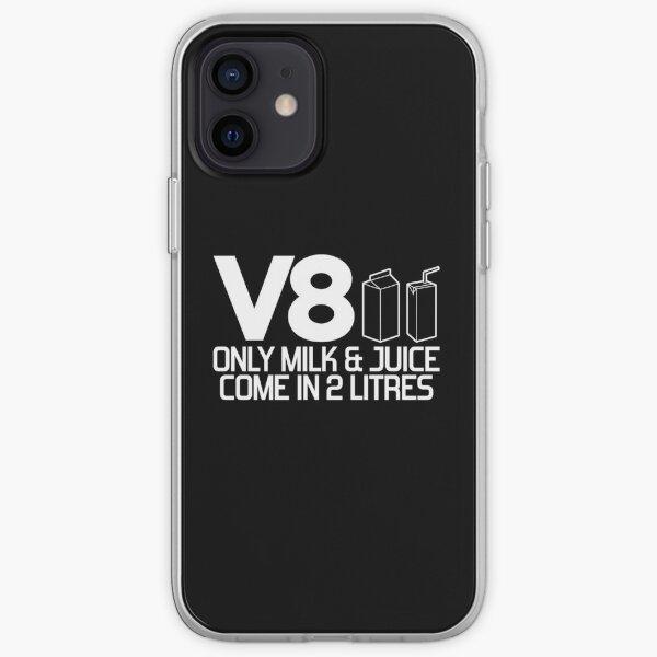 V8 - Seulement le lait et le jus viennent dans 2 litres (1) Coque souple iPhone
