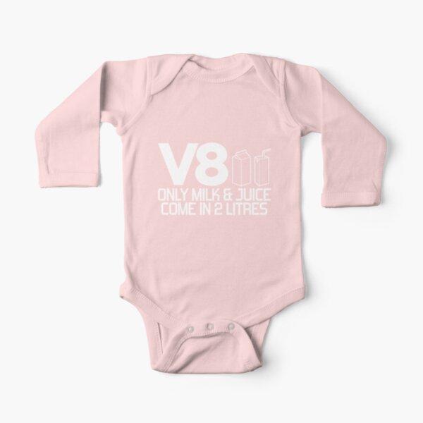 V8 - Nur Milch und Saft sind in 2 Litern erhältlich (1) Baby Body Langarm