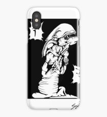 chest buster iPhone Case/Skin