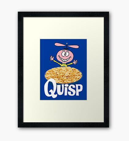 Quisp Framed Print