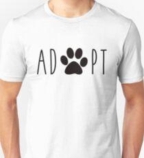 Adopt Dogs Unisex T-Shirt