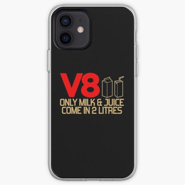V8 - Seulement le lait et le jus entrent dans 2 litres (3) Coque souple iPhone