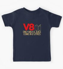 V8 - Only milk & juice come in 2 litres (3) Kids Tee