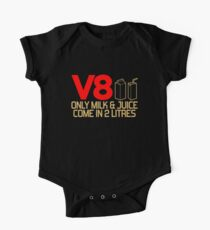 V8 - Only milk & juice come in 2 litres (3) One Piece - Short Sleeve