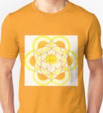 Lotus Solar Plexus Chakra Unisex T-Shirt