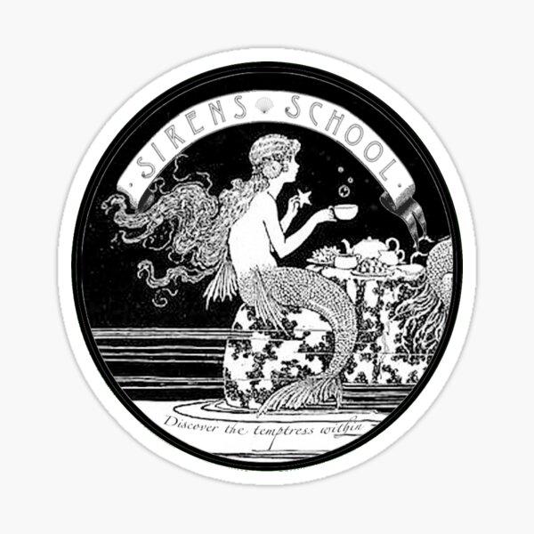 Siren School Sticker