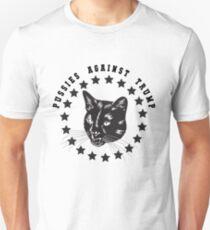 Pussies Against Trump - Anti Trump Unisex T-Shirt