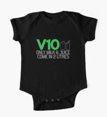 V10 - Only milk & juice come in 2 litres (3) One Piece - Short Sleeve