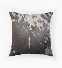 Cruelty Free Cowhide : design 1  Throw Pillow