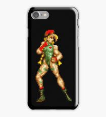 Street fighter 2 Cammy iPhone Case/Skin