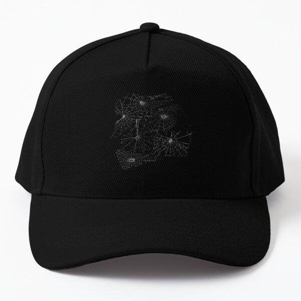 white cobwebs Baseball Cap