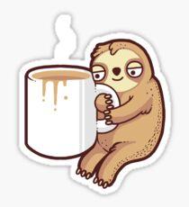 Ahh mornings Sticker