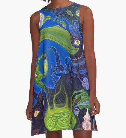Dark Witch A-Line Dress