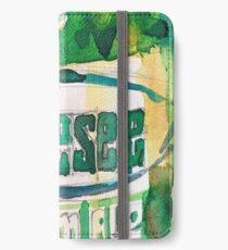 Genesee Cream Ale Beer Art Print - Original Watercolor  iPhone Wallet/Case/Skin