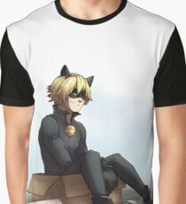 Cat Noir: Free To A Good Home Graphic T-Shirt