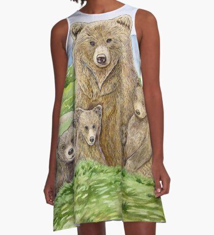 Mother Bear A-Line Dress