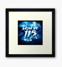 115 - ZOMBIES Framed Print