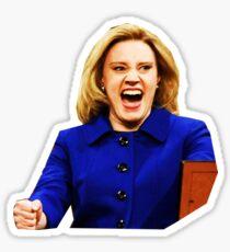 Kate Mckinnon as Hillary Clinton Sticker