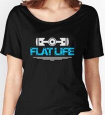 Flat Life (1) Women's Relaxed Fit T-Shirt