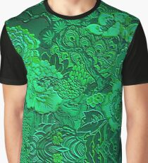 Emerald Peacock  Graphic T-Shirt