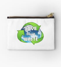 Save Don't Waste Studio Pouch