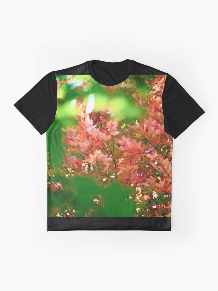 Alternate view of Autumn Magic Graphic T-Shirt