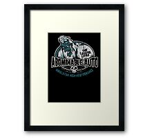 Abominable Auto Framed Print