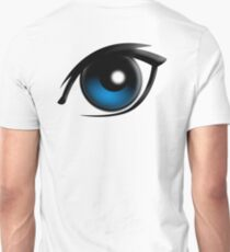 EYE, Blue eyes, Cartoon Unisex T-Shirt