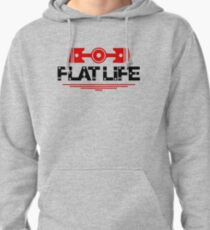 Flat Life (5) Pullover Hoodie