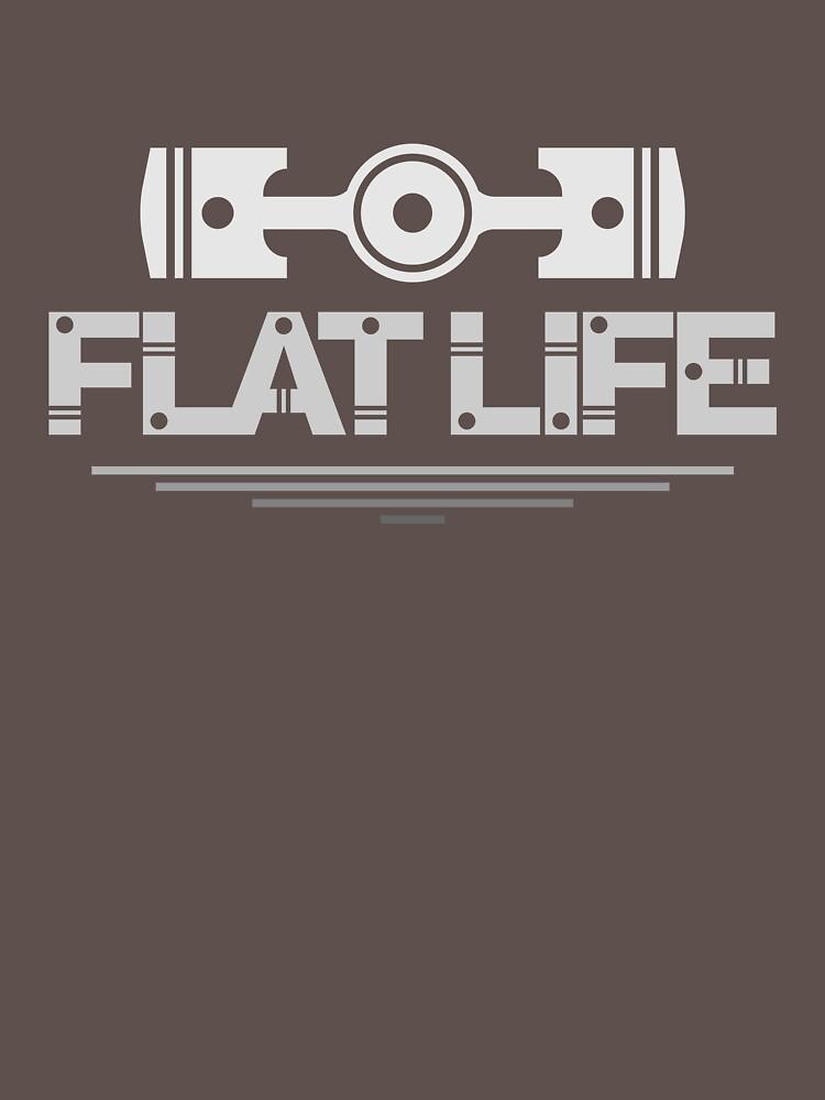 Flat Life (4) | Unisex T-Shirt