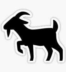 Goat Silhouette Sticker