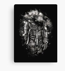 Lost In Cosmic Shades Canvas Print