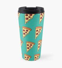 Pepperoni Pizza Passion - Teal Travel Mug