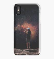 Space tourist II iPhone Case