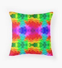 Lienzo texturizado cuadros 2D Throw Pillow