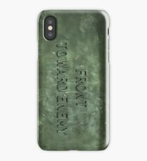 """Front Toward Enemy""  iPhone Case/Skin"