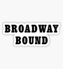 Broadway Bound (Seinfeld) Sticker
