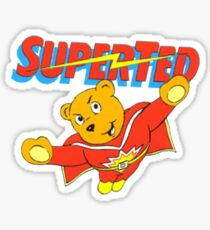 Super Ted Sticker