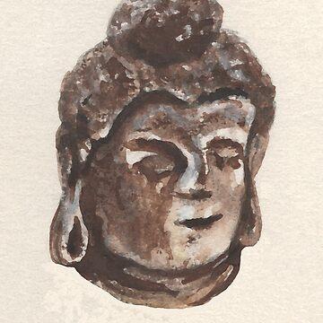 Buddha  by catherine-art