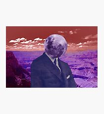 Crater Face Photographic Print